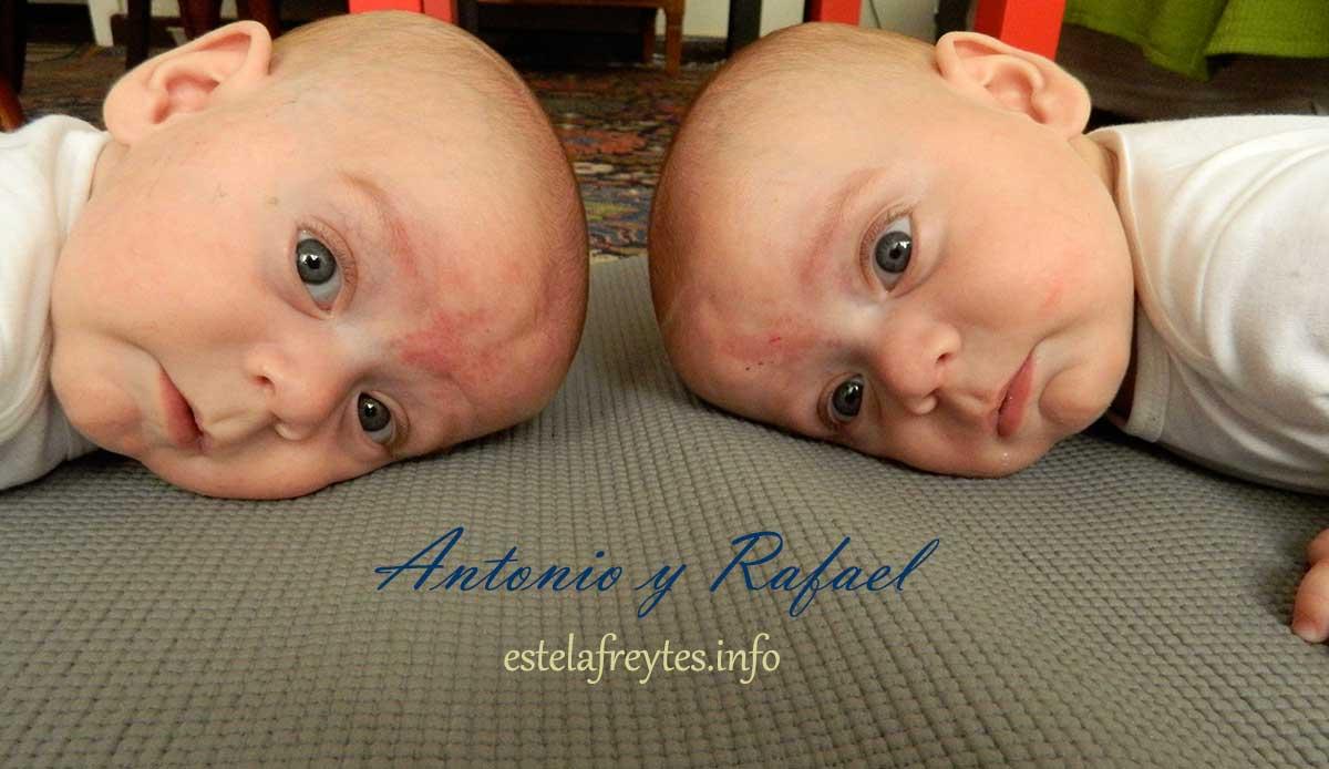 Leticia y Javier, papás de los gemelos Antonio y Rafael (28 semanas)