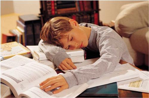 los niños duermen muy poco