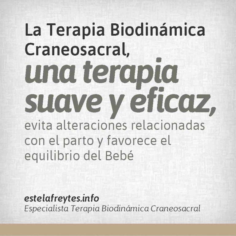 Biodinámica Craneosacral, una terapia suave y eficaz